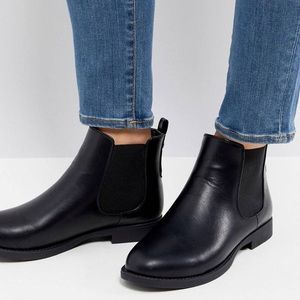 Shoes - Parker Lane (ASOS) faux-leather chelsea boots